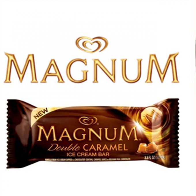 Glace Magnum Double Caramel
