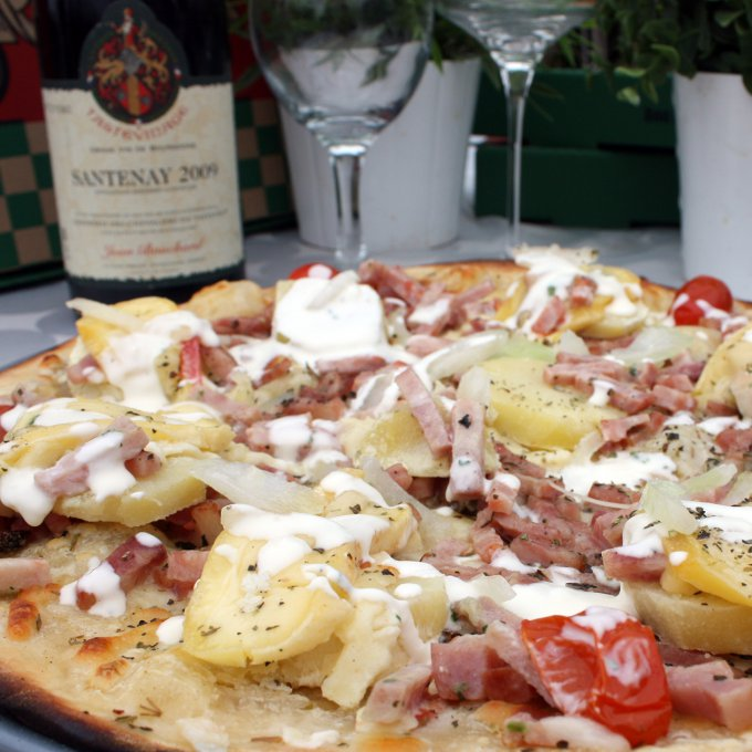 Pizza tartiflette pizzavroom